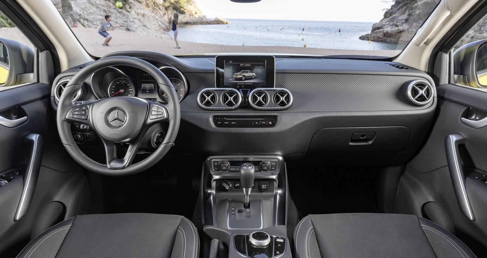 Nội Thất Mercedes X-Class Pickup bán Tải