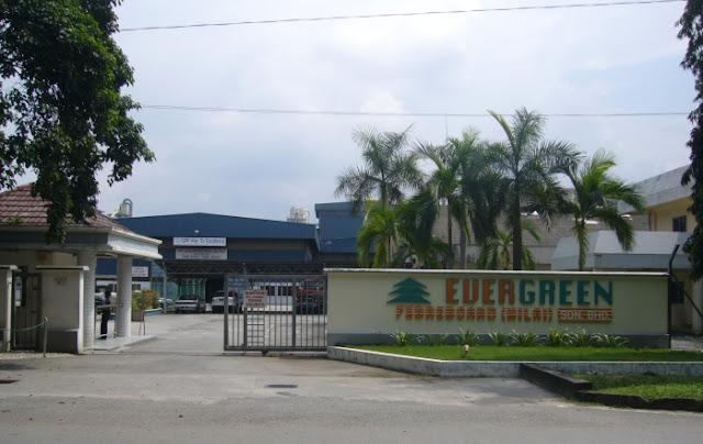 Jawatan Kosong di Evergreen Fibreboard (Nilai) Sdn. Bhd. Jun 2017
