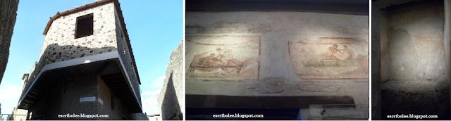 Viaje a Roma: Pompeya, prostíbulo