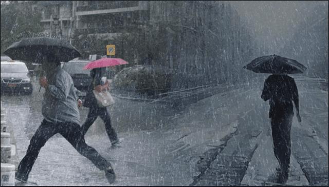 Συνεχίζεται και σήμερα η κακοκαιρία με βροχές και καταιγίδες
