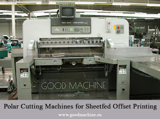 Second hand offset printing machine from Europe: Polar