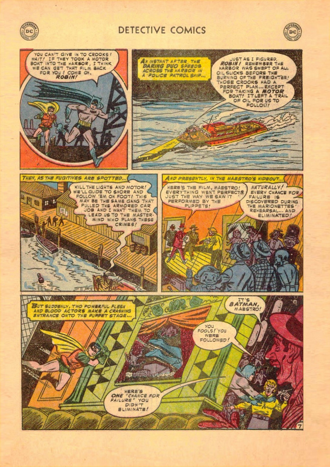 Read online Detective Comics (1937) comic -  Issue #182 - 8