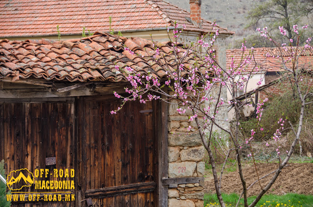 Old door - Ljubojno village - #Prespa Region #Macedonia