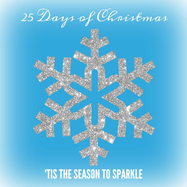 Glitter snowflake 25 Days of Christmas