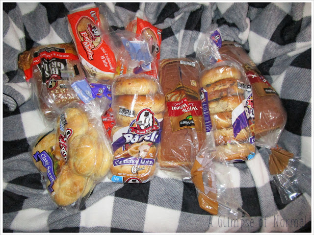 In today's Thrifty Thursday I am sharing how I save money on bread.  Check it out on A Glimpse of Normal.