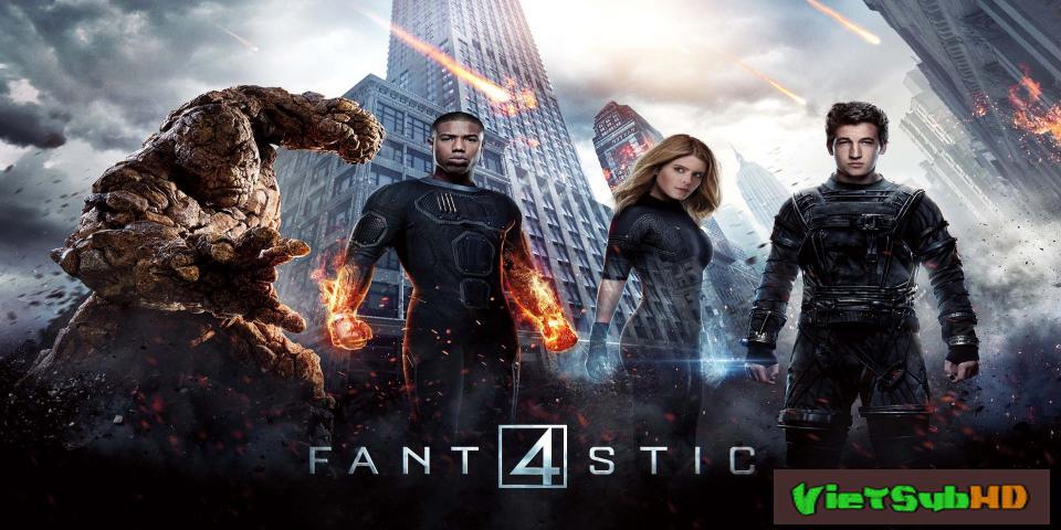 Phim Bộ Tứ Siêu Đẳng VietSub HD | Fantastic Four 2015