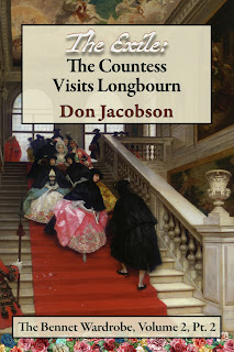 Book Cover - The Exile: The Countess Visits Longbourn by Don Jacobson