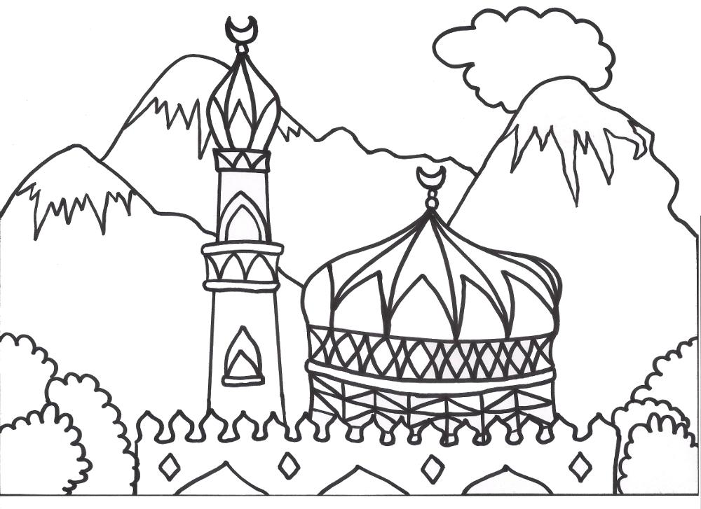 لوحات تشكيلية ورسوم للأطفال مخصصة للتلوين Sinjie Chadid