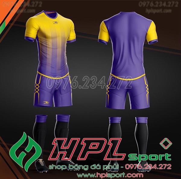 Áo bóng đá không logo KeepFly Snake màu tím