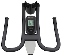 Schwinn IC2 monitor, displays time, speed, distance, RPM, calories