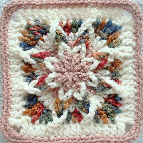 Square Star - Crochet Pattern