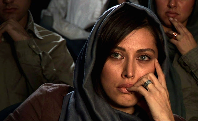 A still from Abbas Kiarostami's Shirin
