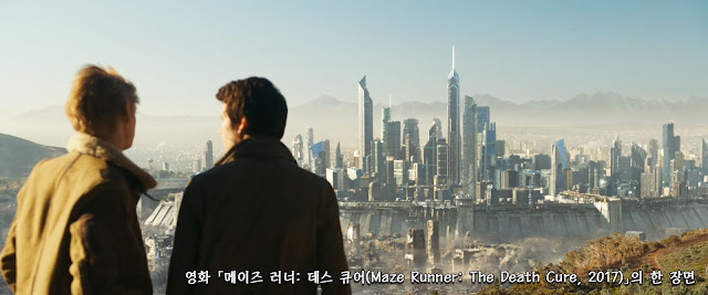 Maze Runner The Death Cure 2017 scene 02