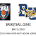 Basketball Player's Clinic Set for Sat May 5, 2018 in Swan River for Grades 1-12