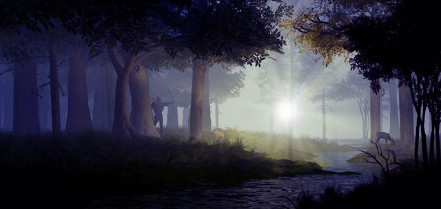 Robin Hood în Pădurea Sherwood