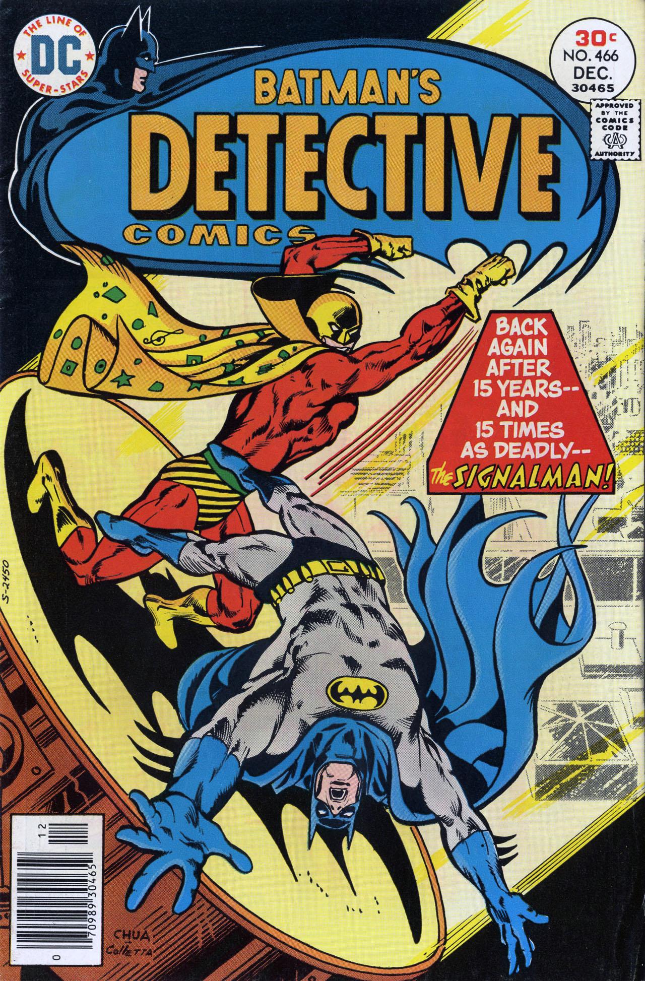 Detective Comics (1937) 466 Page 0