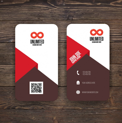 Contoh Kartu Nama - Unlimited Business Card Design