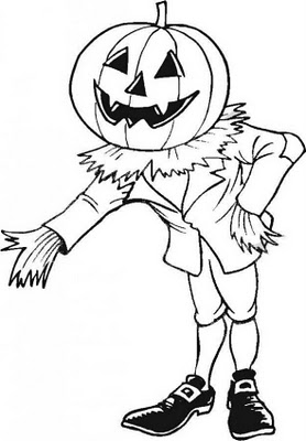 bordures de pages halloween coloring - photo#39