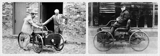 Перший бензиновий возик від Генрі Форда