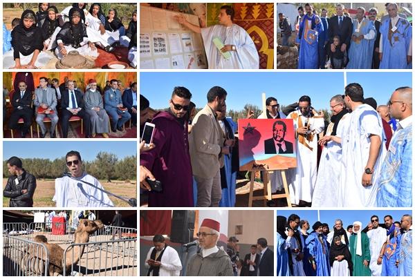 أولاد تايمة.. جمعية أيت أوسي للتنمية والتعاون تحتفل بذكرى عيد المولد النبوي( + فيديو)