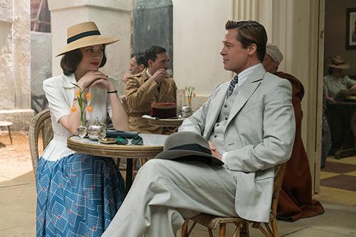 Tráiler español de 'Aliados' con Brad Pitt y Marion Cotillard