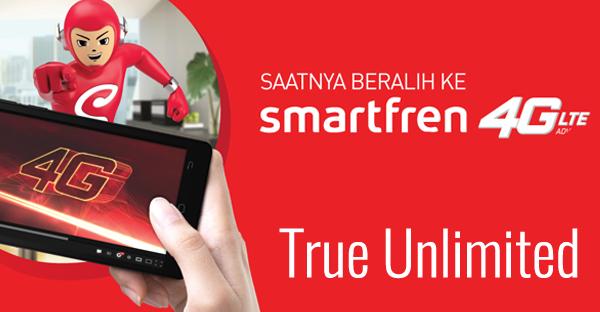 Kelebihan Dari Paket Smartfren True Unlimited