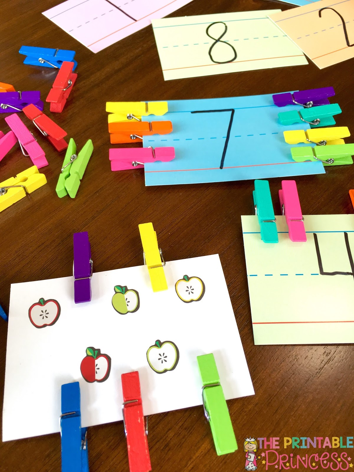 Number Sense for Kindergarten | The Printable Princess