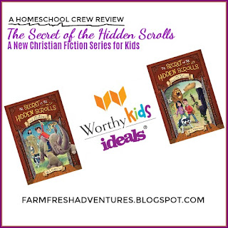 The Secret of the Hidden Scrolls from WorthyKids/Ideals {Book Review}