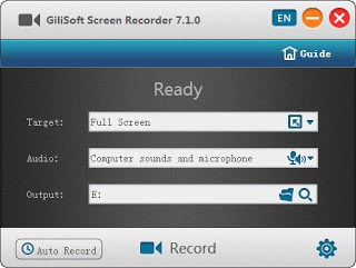 Gilisoft Screen Recorder 8.3.0 Multilingual Full Version