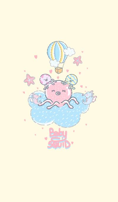 Baby-squid