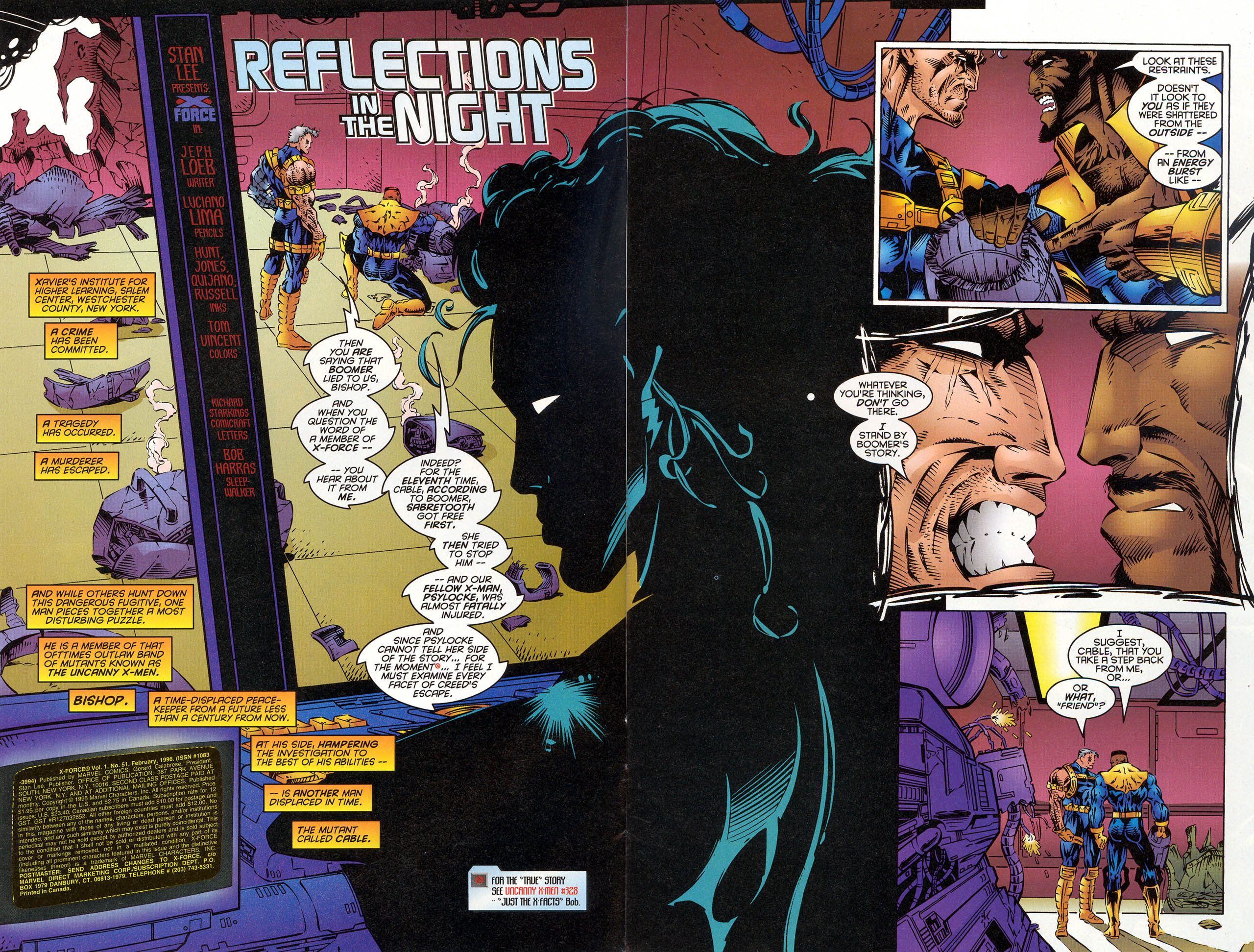 Read online X-Force (1991) comic -  Issue #51 - 4