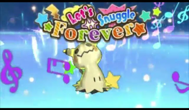 Mimikyu's exclusive Z-move: Let's Snuggle Forever