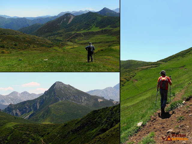 Camino del Alto de Las Navariegas, el Ferreirúa