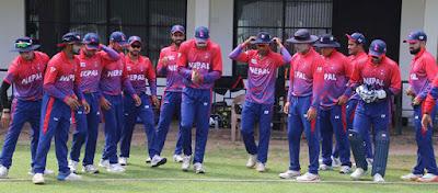ICC-T20  विश्वकप छनोट : ३ ओभरमै नेपालले म्यानमारलाई  जित्यो