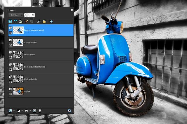 تحميل برنامج  PaintShop Pro X8 عامل الدهان برو لتركيب الخلفيات على الصورة وتعديلها مجانى