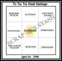 April Tic Tac Toe Stash Challenge