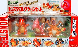 Pokemon figure Tomy Monster Collection Set A