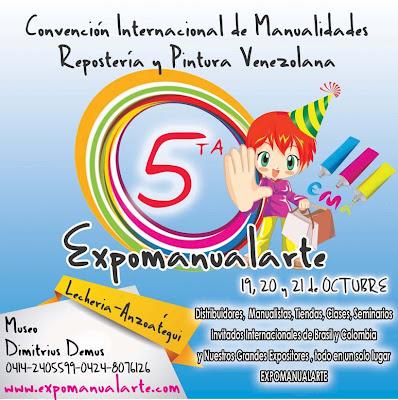 Expo Feria Manualidades - Feria Repostería - Feria Pintura - Expomanualarte