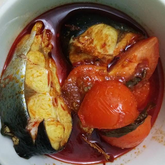 asam pedas ikan patin
