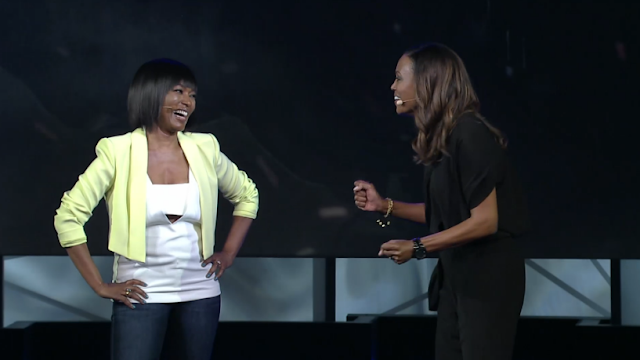 Angela Bassett Aisha Tyler Ubisoft E3 2015 conference briefing  Tom Clancy