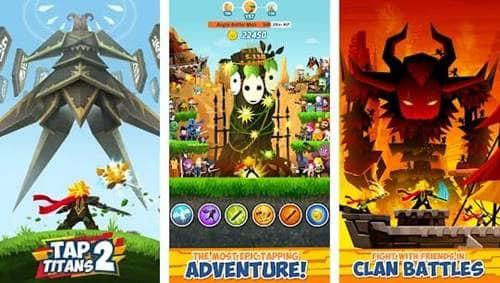 Free Download Tap Titans 2 MOD Apk v2.9.2 Terbaru