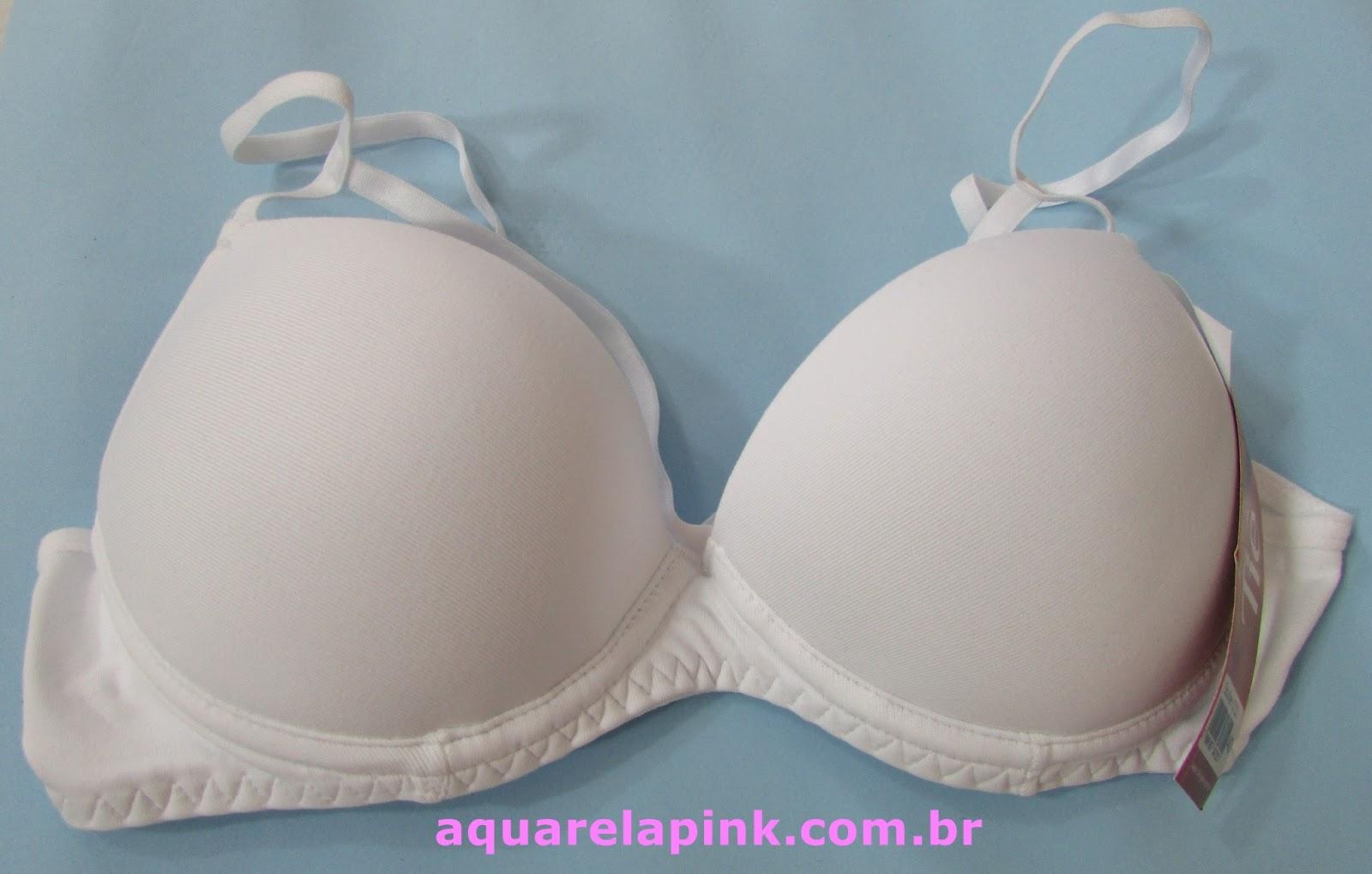 a9ac94ce0 Aquarela Pink  Strappy Bra - Recebido do Lingerie BR