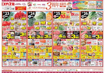 【PR】フードスクエア/越谷ツインシティ店のチラシ3月23日号