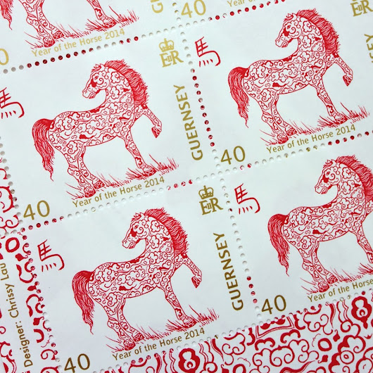 Year of the Horse stamps