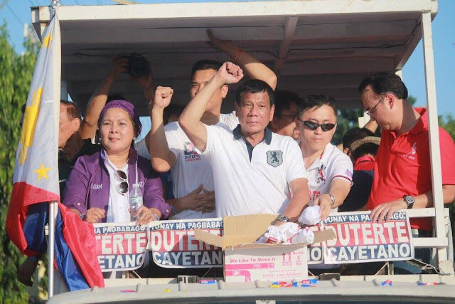 Rody Duterte leads SWS poll