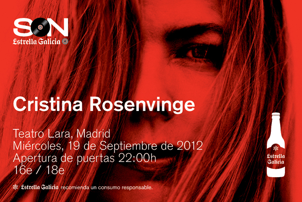 Cristina Rosenvinge en el Teatro Lara