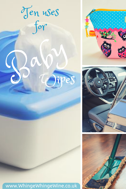 Ten uses for babywipes - the only cleaning product you'll ever need and the swiss army knife of the parenting world