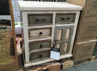 Store your belongings in the stylish Hillsdale Furniture Accent Cabinet