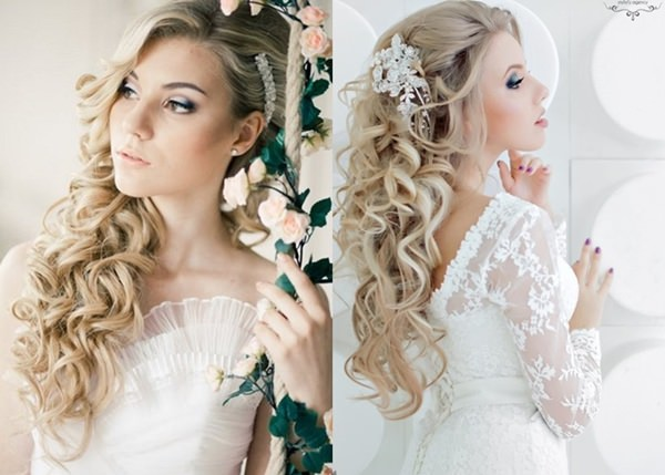 Wedding Hairstyle with Permanent Waves 5