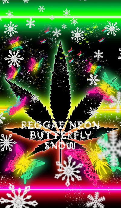 REGGAE NEON BUTTERFLY SNOW
